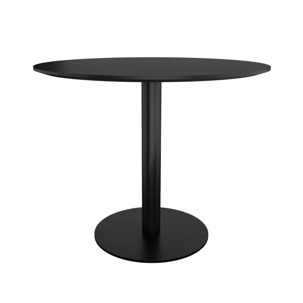 FR 143_Retro table_round_black