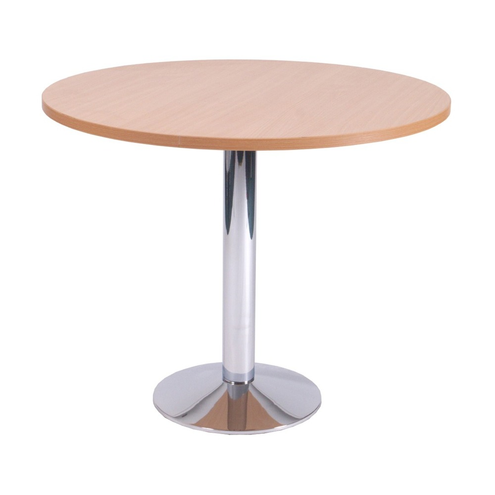 Slope Small Round Dining Chrome – 50C8MB