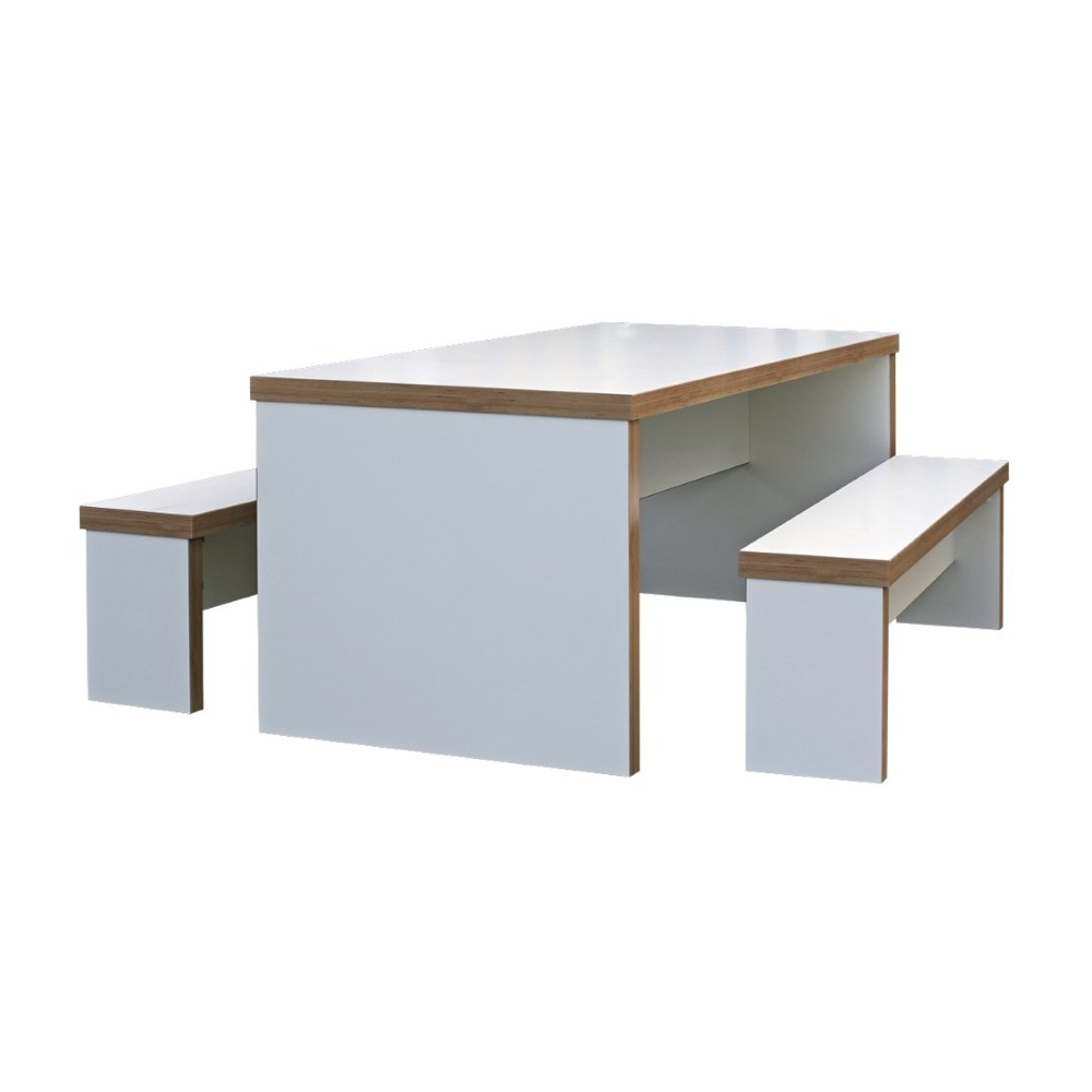 Trestan Bench Unit – White